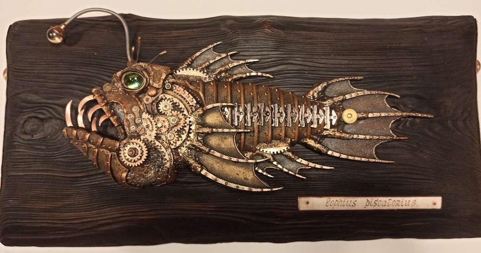 Cryptoauction | Steampunk FIsh